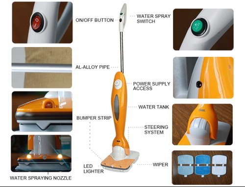 Cordless Floor Cleaning Machine