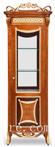 Corner China Cabinet Antique Wall Mount Fj 128a