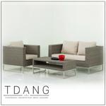 Coronado Deep Seating With Stainless Steel Base Code Td1014