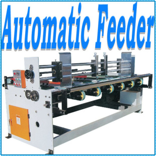 Corrugate Cardboard Auto Feed Machine