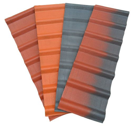 Corrugated Asphalt Roofing And Siding Panel