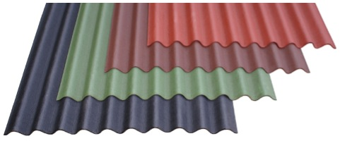 Corrugated Bituminous Sheet Bitumen Roofing Sheets