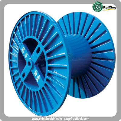 Corrugated Reel Indicated For Cables Ropes And Strands Used On A Process Or Shipping