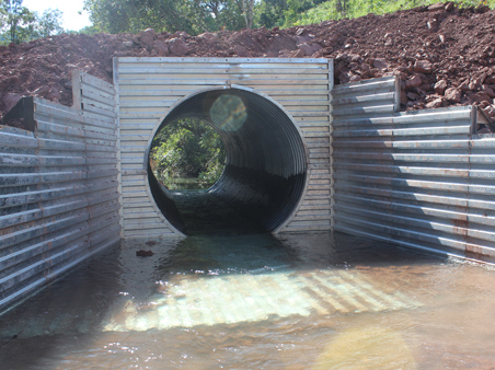 Corrugated Steel Headwalls Culverts And