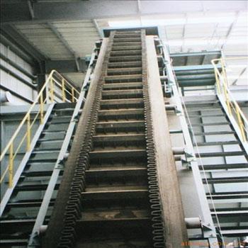 Corrugated Steep Angle Belt Conveyor