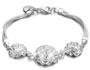 Costume Jewelry Fine Bracelet Antique Silver