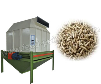 Counter Flow Pellet Cooler Mainly Used In Large Or Medium Size Feed Pelletizing Plant And Wood Produ