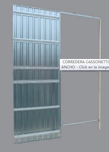 Counter Frame Sliding Doors Steel Door