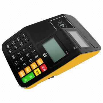 Countertop Pos Terminal Supports 2g 3g And Wi Fi 128mb Flash 32mb Sdram With Tf To Backup Data