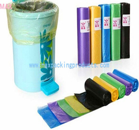 Covenient Your Life Convenient Mood Hdpe Ldpe Plastic Colored Garbage Bags