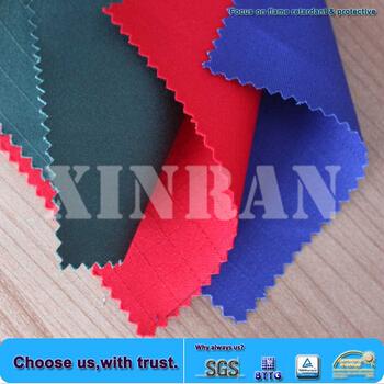 Coverall Use Oeko Tex 100 Cotton Flame Retardant Fabric