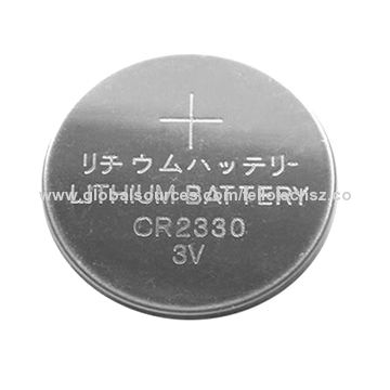 Cr2330 Button Cell 3v Battery Holder Hotsale Non Rechargeable Lithium