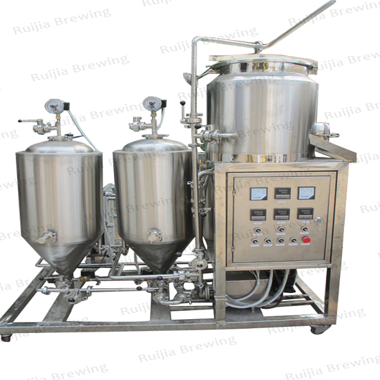 Craft Beer Equipment 50l 100l Micro Home Brewing