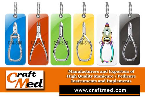 Craft Med Manufacturer Of Beauty Care Instruments Dull Coating Gold