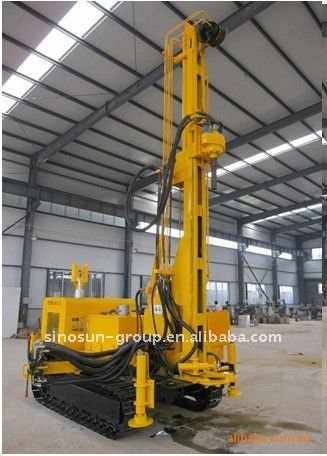 Crawler Water Well Drilling Rig Hd400