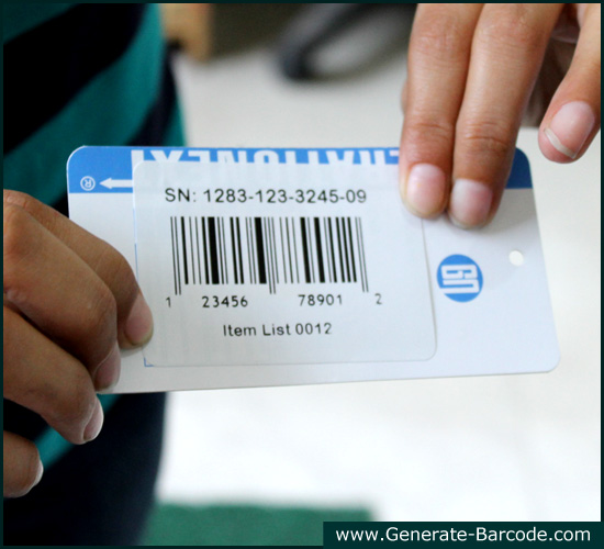 Create Business Labels Using Barcode Designer Application