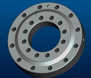 Cross Roller Slewing Ring Bearing Without Gear Type