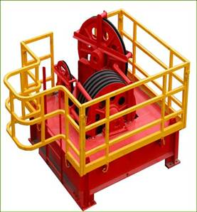 Crown Block Travelling Drilling Rig Accessory