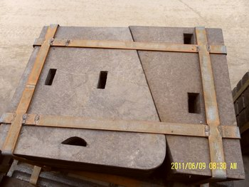 Crusher Parts Jaw Plate Price Manufacturer