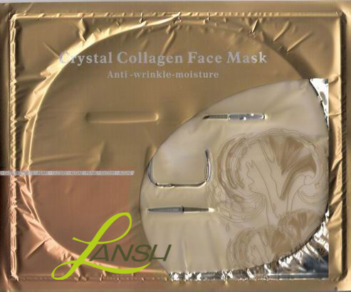 Crystal Collagen Facial Mask Colours Compositions Children