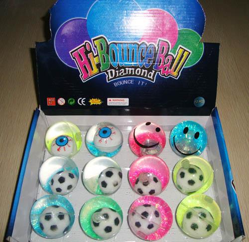 Crystal Glitter Bouncing Ball