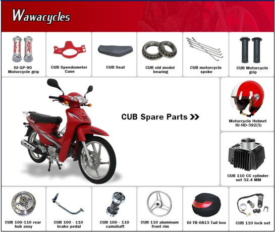 Cub Motorcycle Spare Parts
