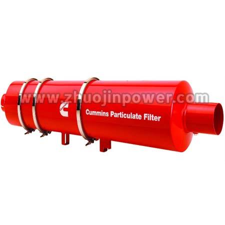 Cummins Diesel Engine Spare Part Particulate Filter