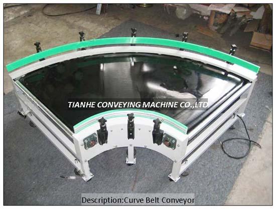Curve Belt Conveyor Th Cbc
