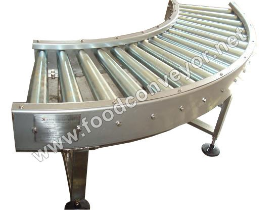 Curve Dynamic Roller Conveyor