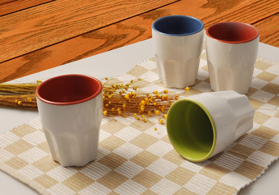 Custom Ceramic Ice Cream Cups Manufacture