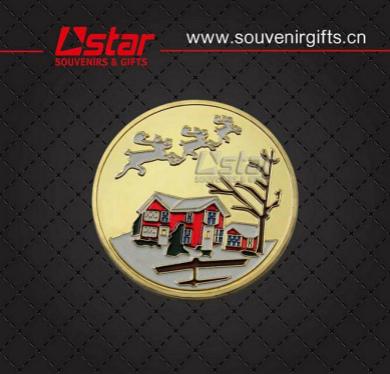 Custom Design Metal Souvenirs Coin