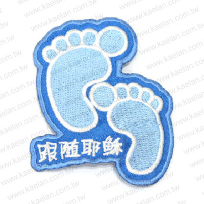Custom Embroidery Patches Hair Accessories
