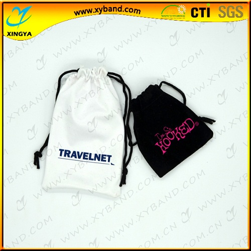 Custom Logo New Cotton Drawstring Bag For Gift