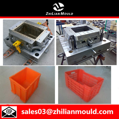 Custom Plastic Crate Mould