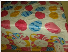 Custom Printed Easter Table Covers Cheap Disposable Tablecloth Wholesale