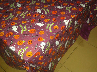 Custom Printed Halloween Tablecloths Halloweenplastic Table Covers Wholesale