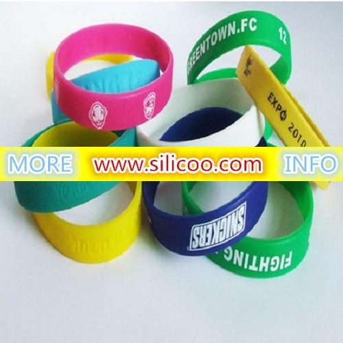 Custom Silicone Bracelets