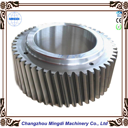 Customized 1 120m Helical Gears Spiral Bevel Gear