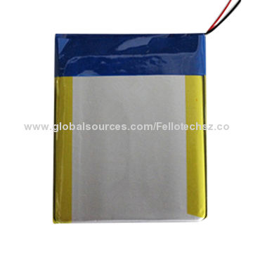 Customized 3 7v Rechargeable Li Polymer Battery For Digital Products Rc Toys