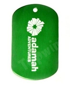 Customized Dog Tag Keychain
