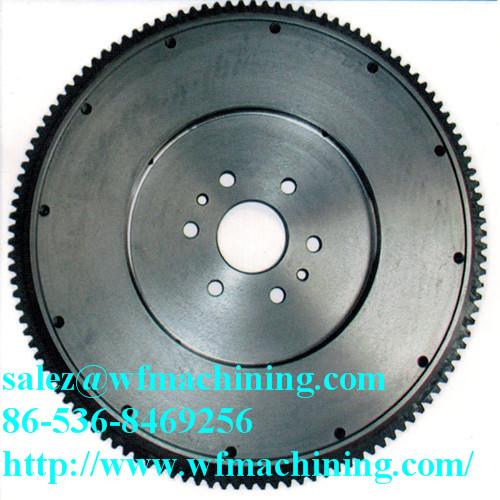 Customized Grey Iron Flywheel Of Sand Casting Process
