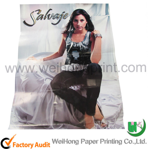 Customized Poster Printing Service Manufacturer