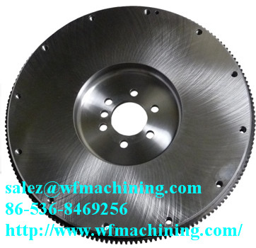 Customized Spinning Bicycles Flywheel With Machining Service