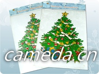 Customized Sticker Christmas Static Barcode