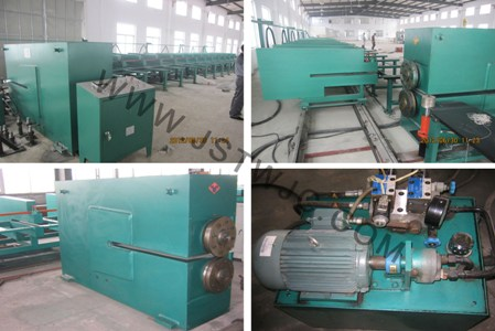 Cut Into Length Machine For Diagonal Cutting