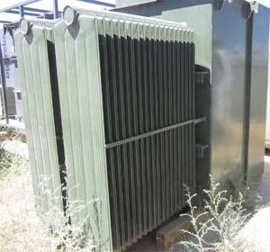 Cutler Hammer 1 500 Kva Oil Filled Pad Mount Transformer Pri 12470 Volts Sec 480y 277