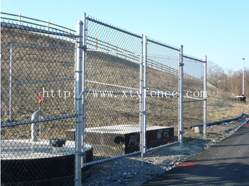 Cyclone Mesh Fence Chain Link
