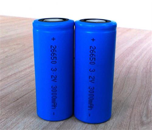 Cylindrical Lifepo4 Battery Ifr26650 3 2v For Solar Light Ebike Flashlight Electric Equipment