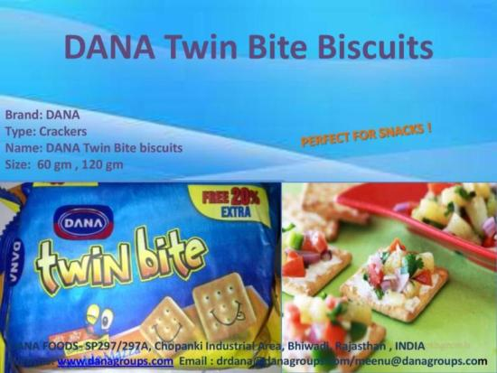 Dana Twin Bite Biscuits