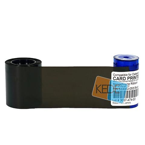 Datacard 533000 053 Black Ribbon